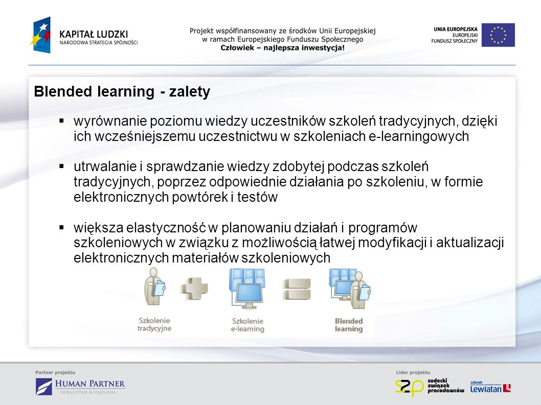 Blended learning - zalety