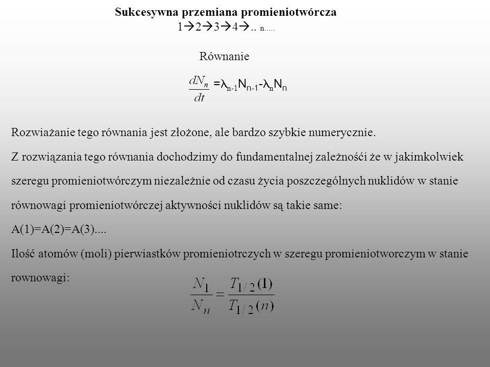 Datowanie kosmogenicznych nuklidów
