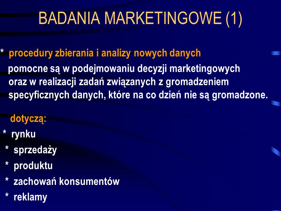 BADANIA MARKETINGOWE (1)