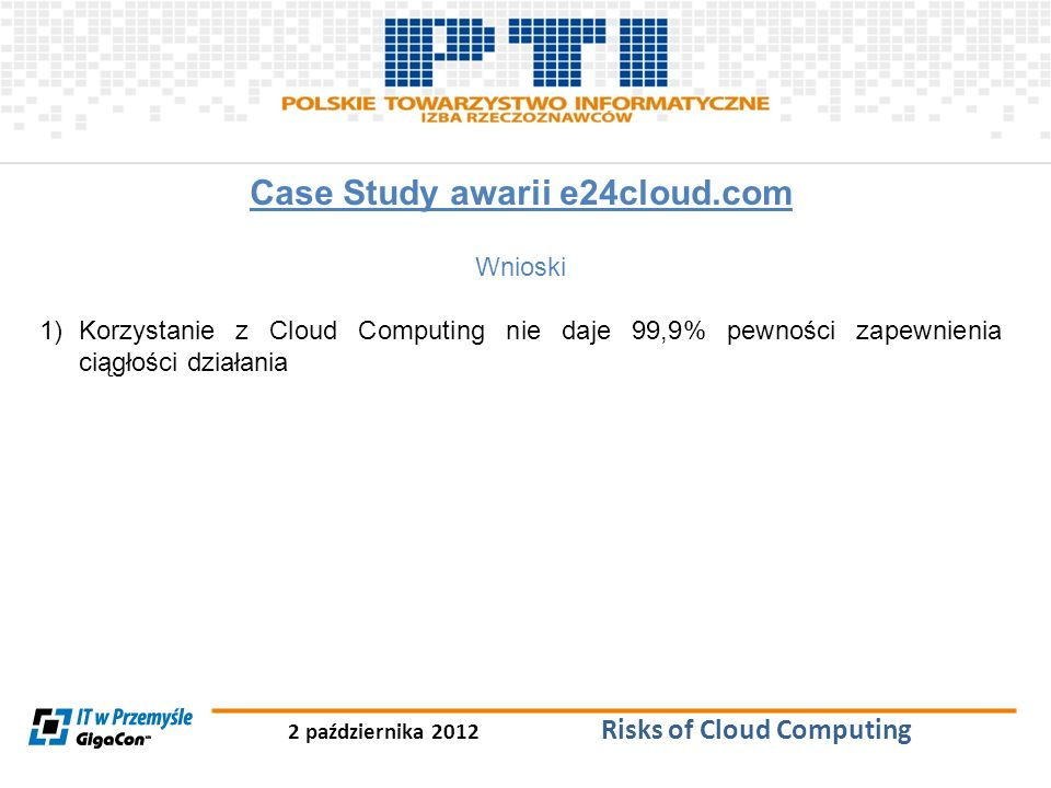 Case Study awarii e24cloud.com
