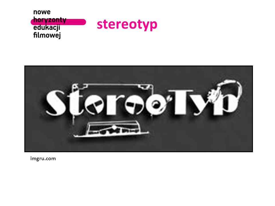stereotyp Co to jest stereotyp