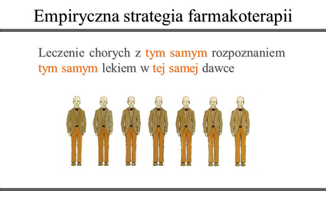 Empiryczna strategia farmakoterapii