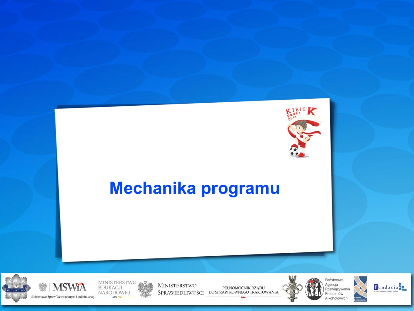 Mechanika programu