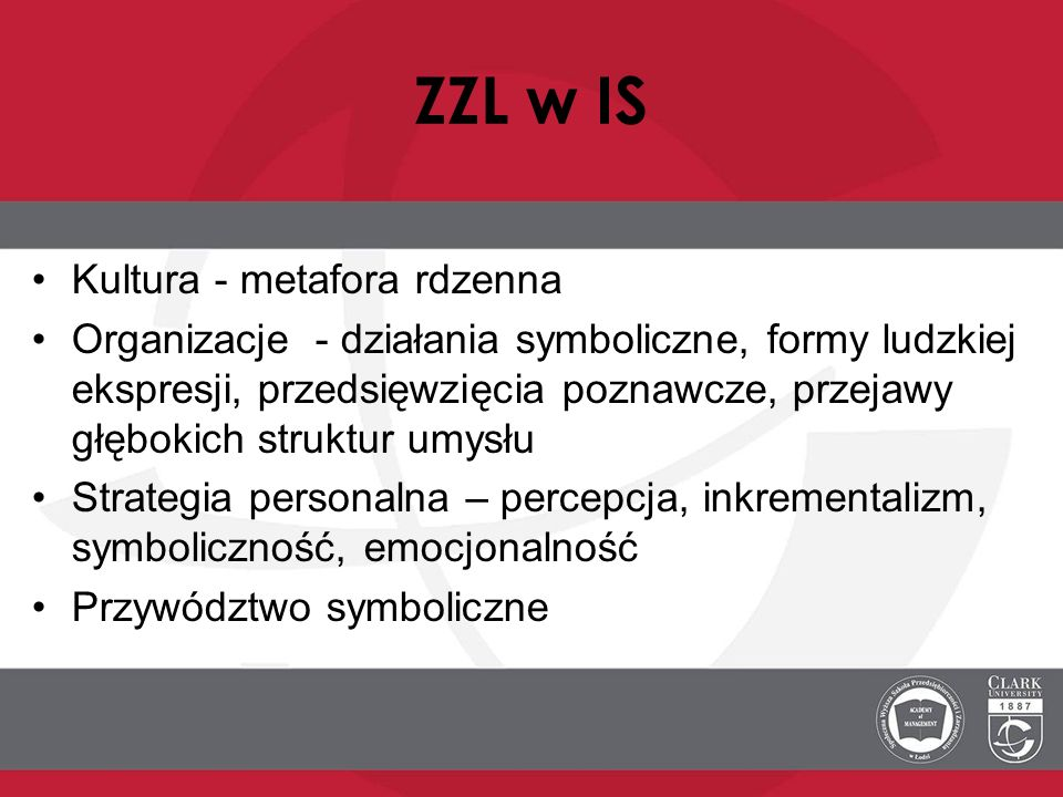 ZZL w IS Kultura - metafora rdzenna