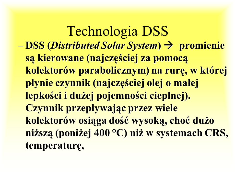 Technologia DSS
