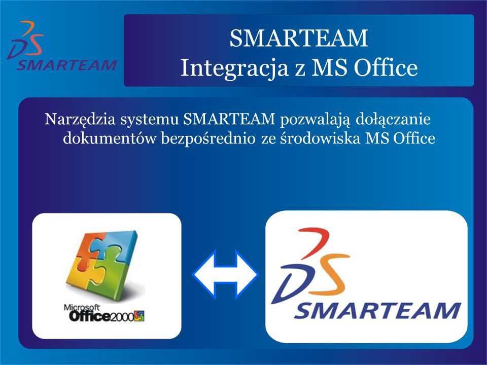 SMARTEAM Integracja z MS Office