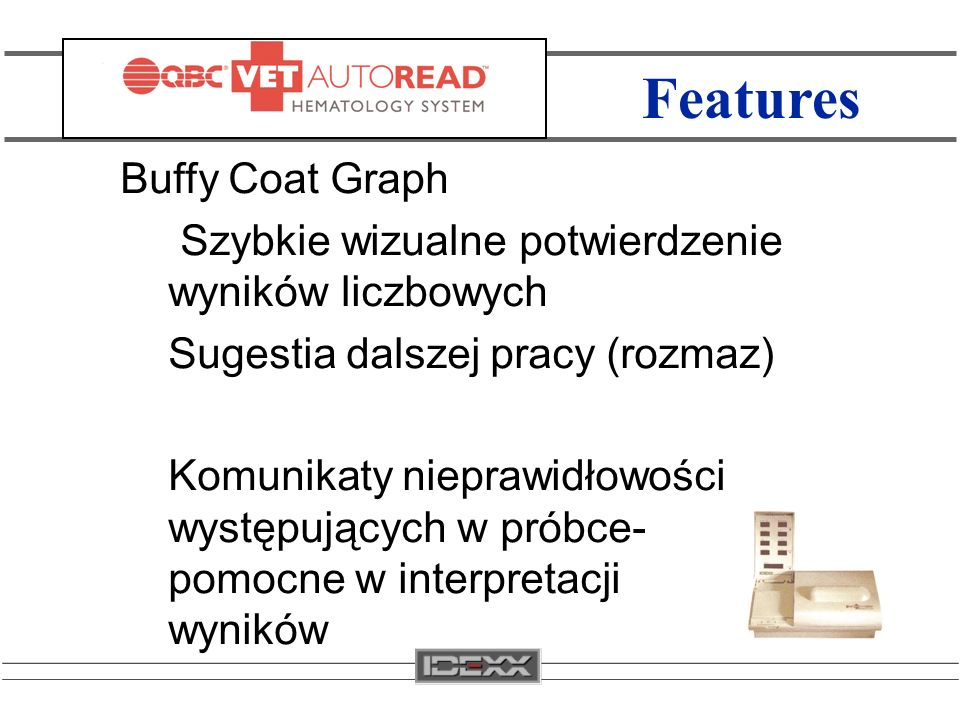 Features Buffy Coat Graph