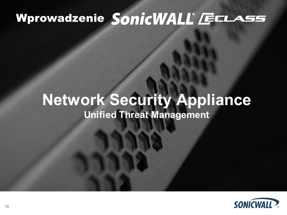 Network Security Appliance Unified Threat Management