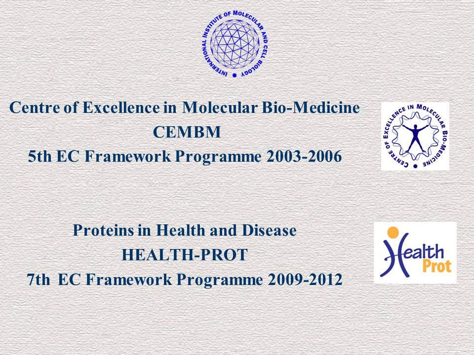 Centre of Excellence in Molecular Bio-Medicine CEMBM