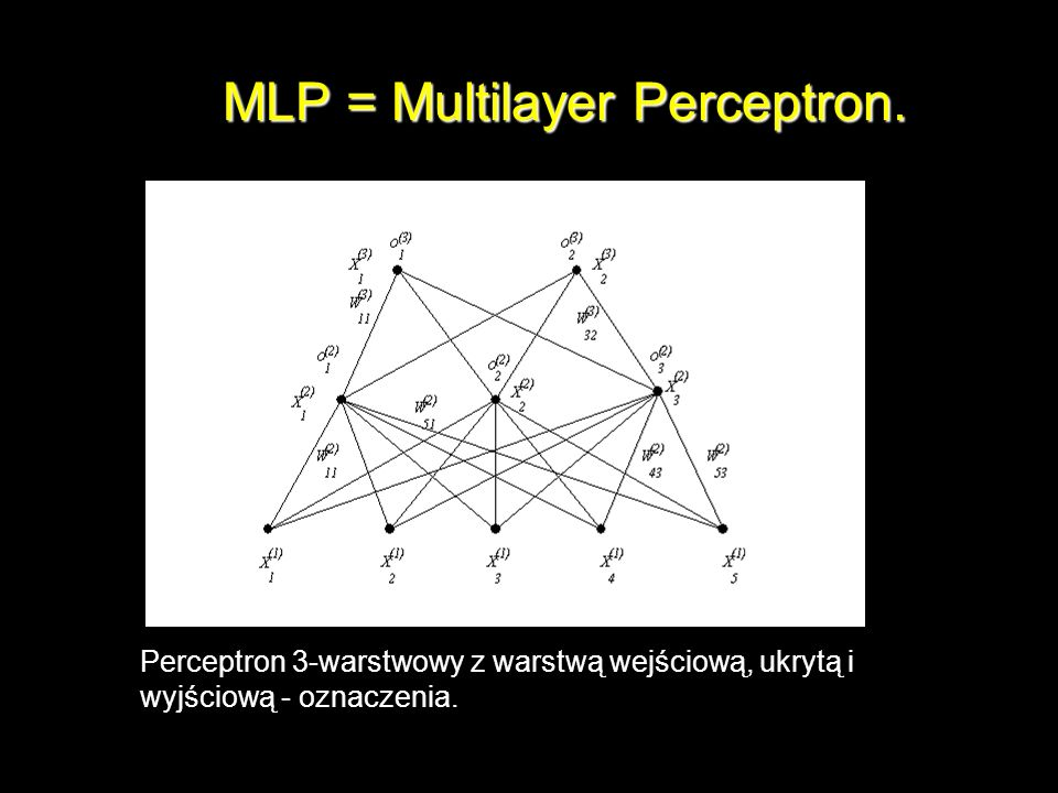 MLP = Multilayer Perceptron.