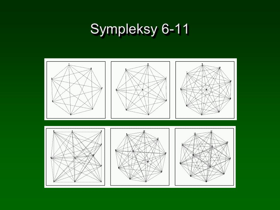 Sympleksy 6-11 (c) Tralvex Yeap. All Rights Reserved