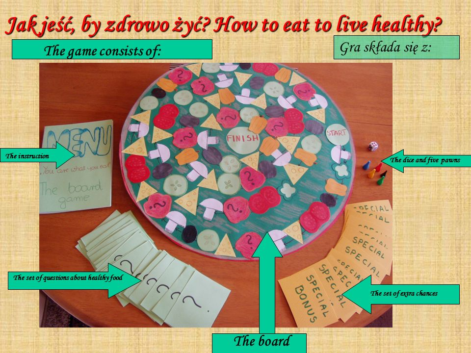 Jak jeść, by zdrowo żyć How to eat to live healthy