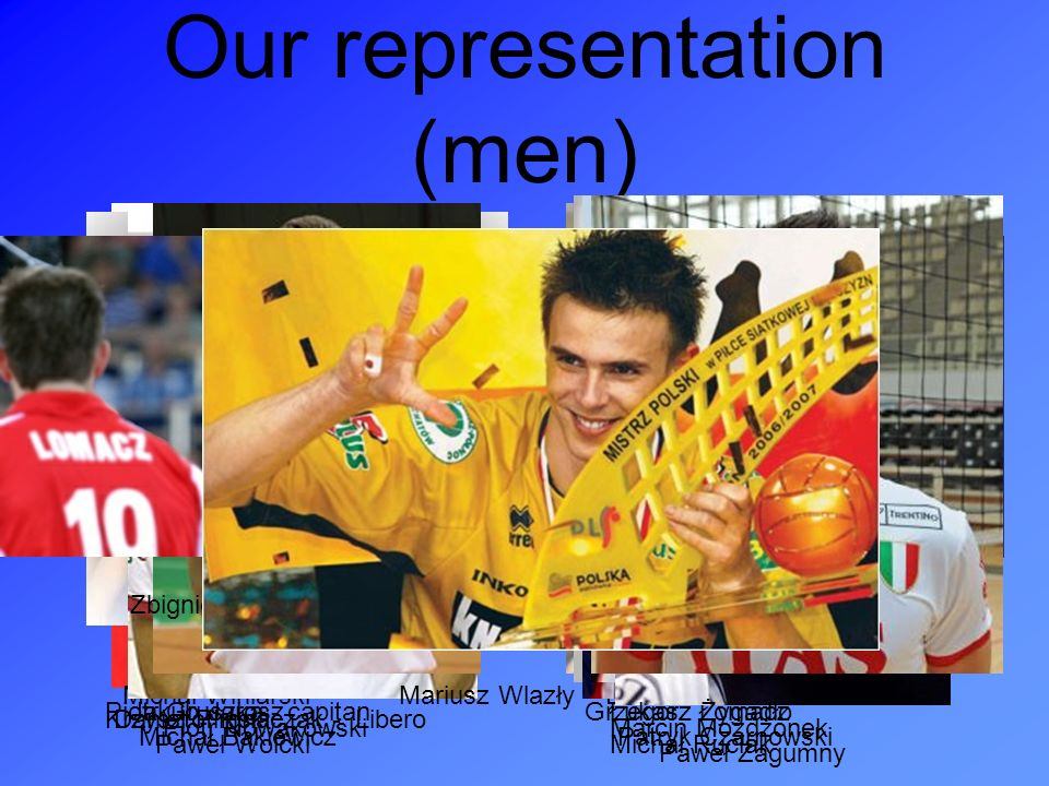 Our representation (men)