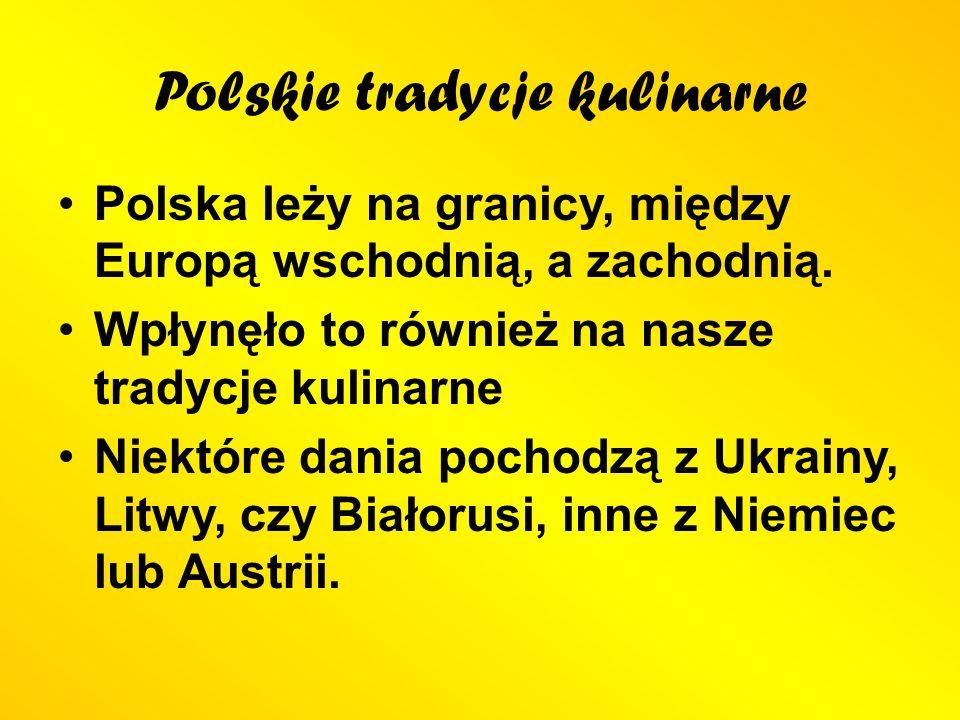 Kuchnia Polska Ppt Pobierz
