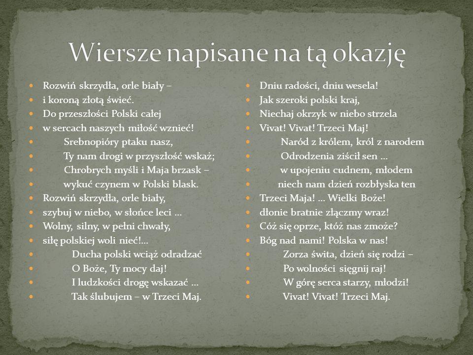 Konstytucja 3 Maja ś W I ę T O N A R O D O W E Ppt Pobierz