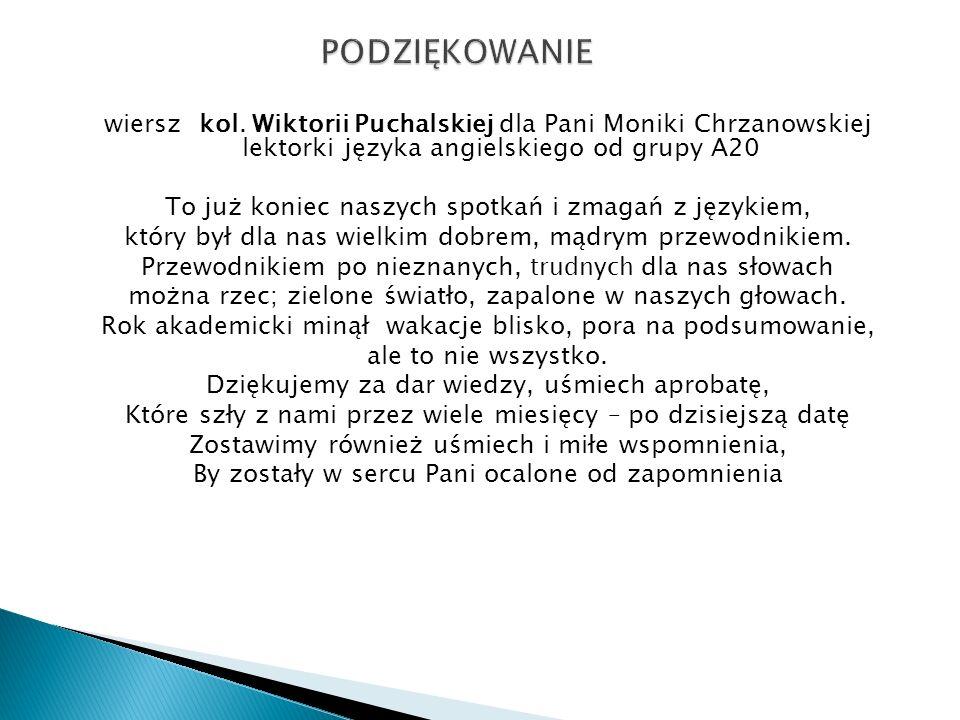 Sekcja Języka Angielskiego Rok Szk 2012 Ppt Pobierz