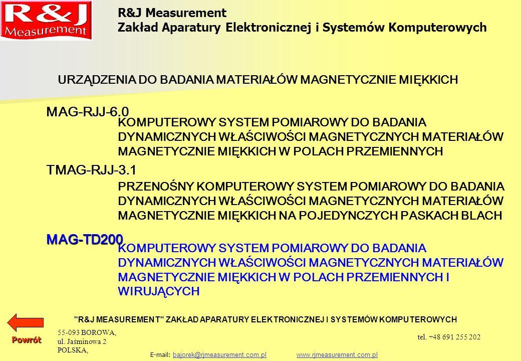 Katalog Produktów Rj Measurement Ppt Pobierz