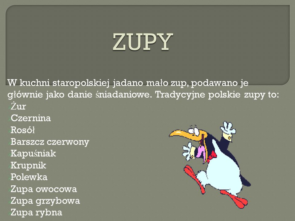 Kuchnia Polska Staropolska I Regionalna Ppt Video Online Pobierz