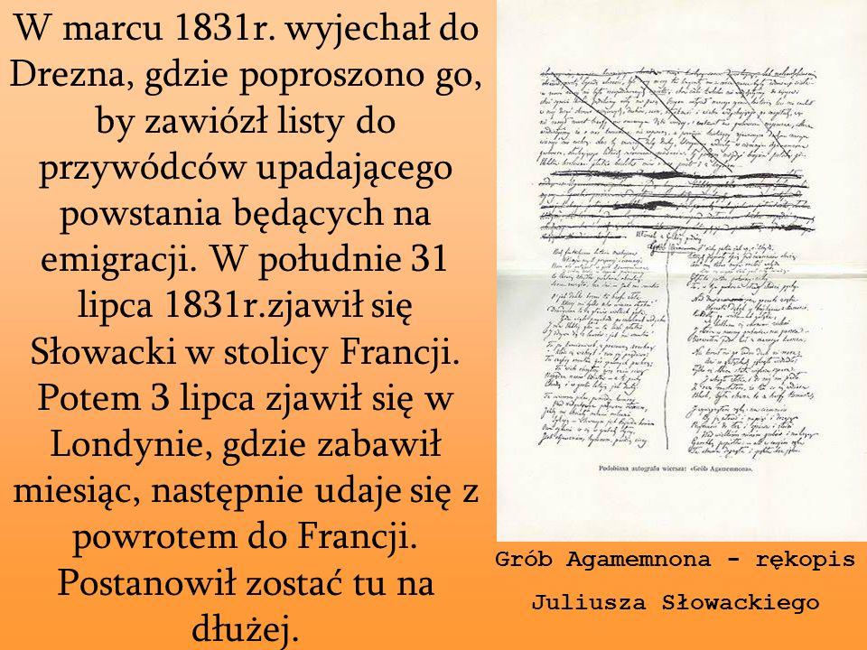Słowacki Wielkim Poetą Był Ppt Pobierz