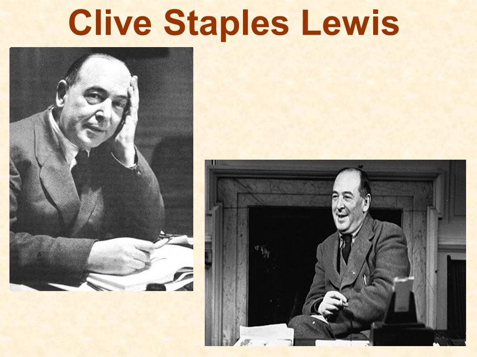 Clive Staples Lewis