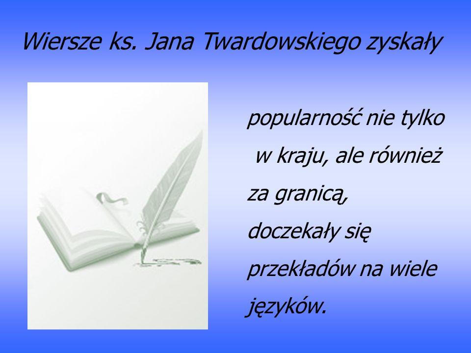 Ksiądz Jan Twardowski życie Pełne Wierszy Ppt Pobierz
