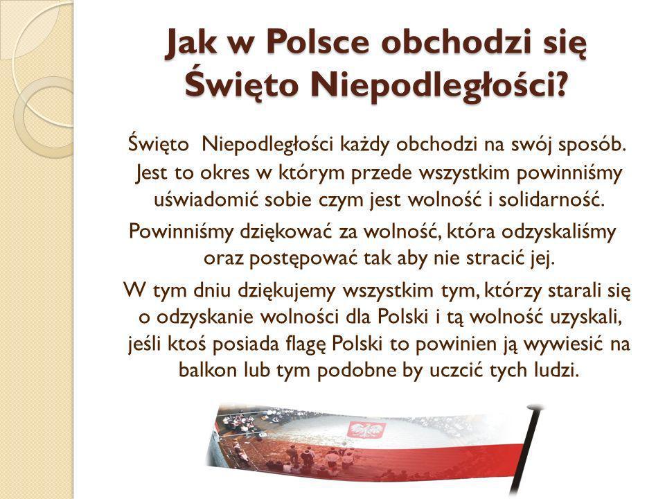 święto Niepodległości 11 Listopada Ppt Pobierz