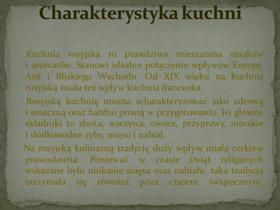Czy Rosyjska Kuchnia Smakowalaby Polakom Kornelia Antoniak Ppt Pobierz