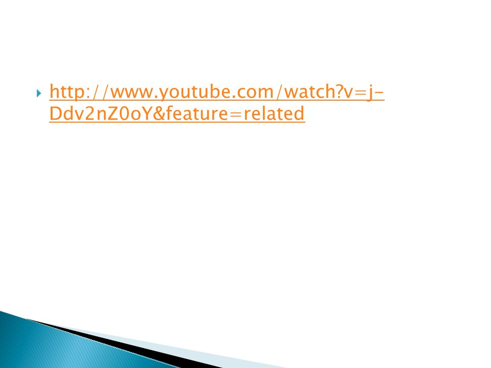 http://www.youtube.com/watch v=j- Ddv2nZ0oY&feature=related