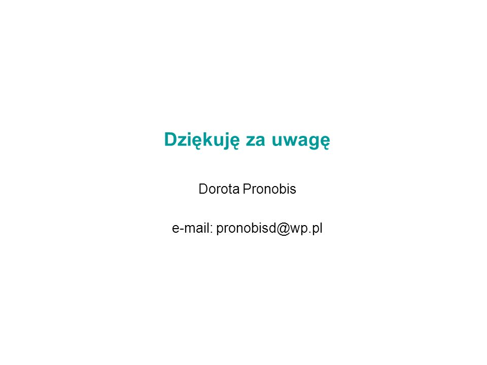 e-mail: pronobisd@wp.pl