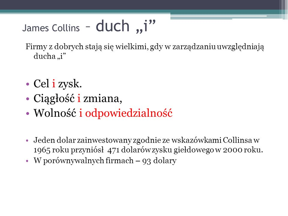 "James Collins – duch ""i"
