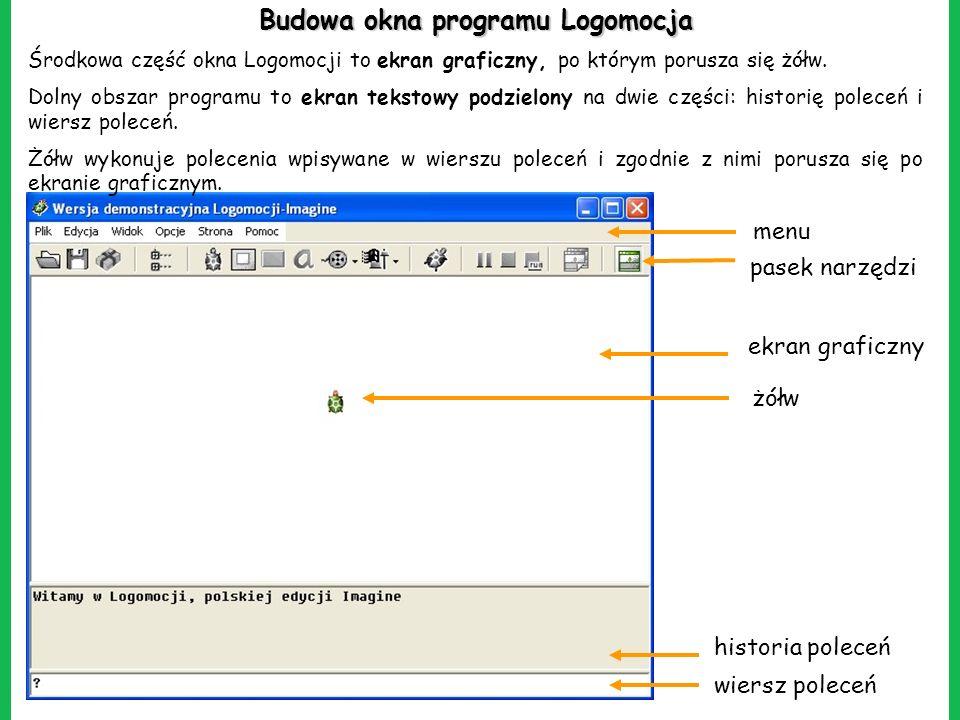 Język Programowania Logo Na Przykładzie Programu Logomocja