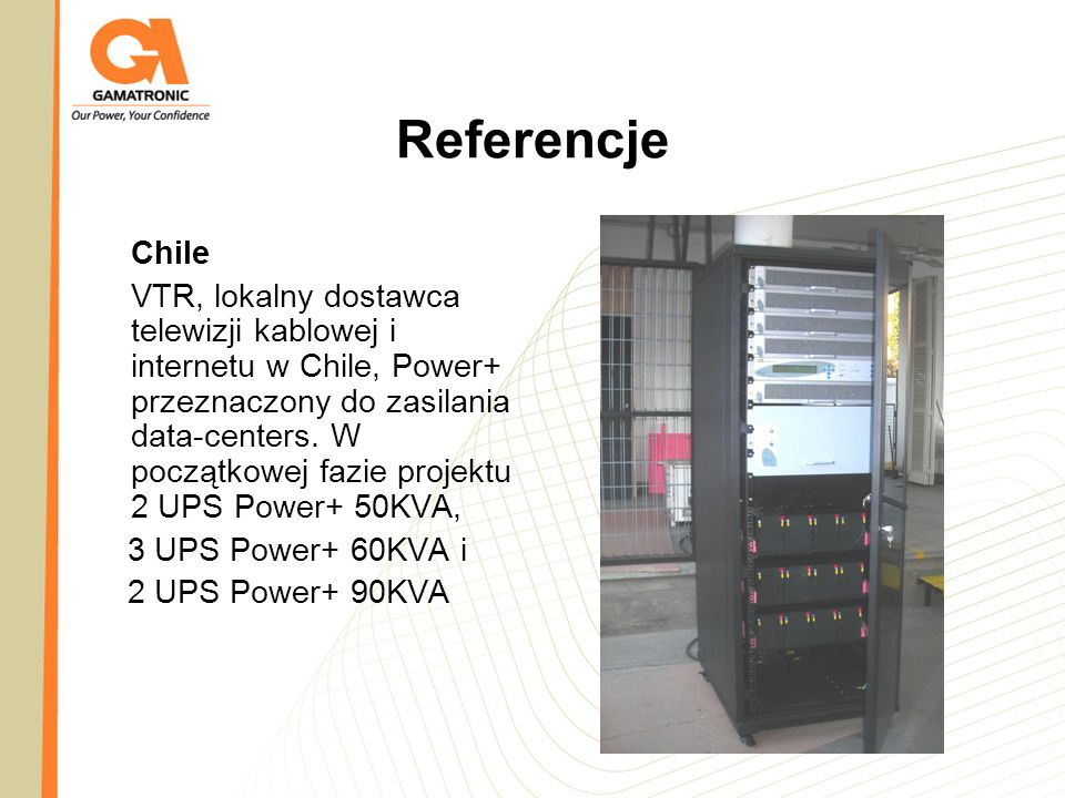 Referencje Chile.