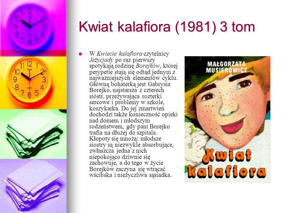 Kwiat kalafiora (1981) 3 tom