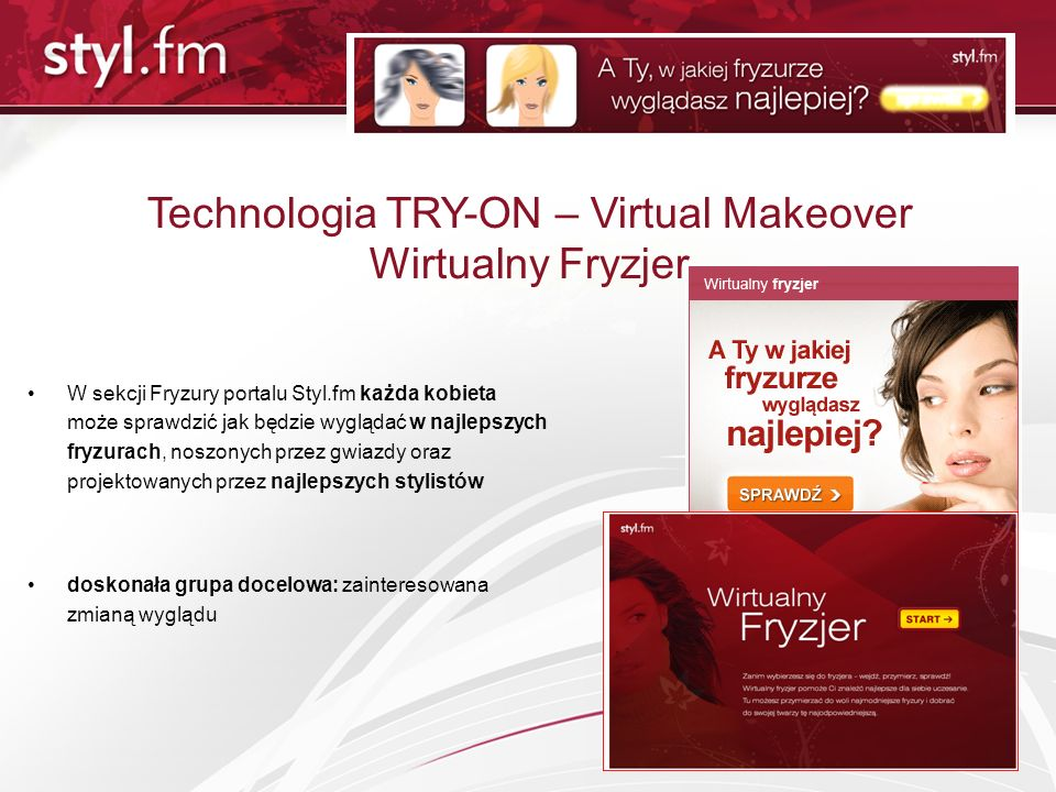 Technologia TRY-ON – Virtual Makeover