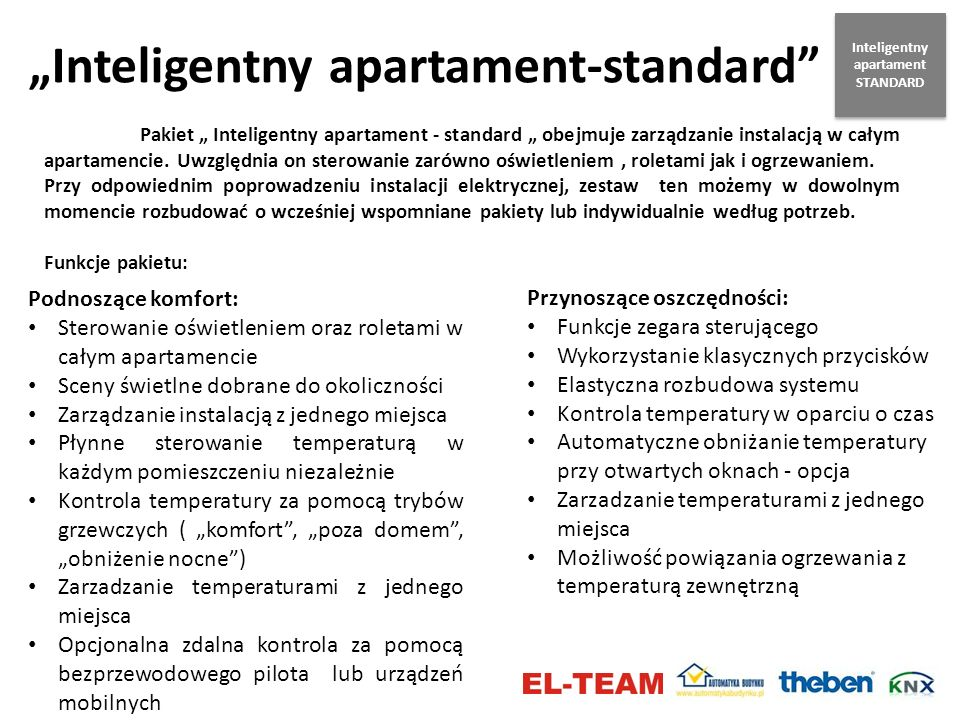 Inteligentny apartament