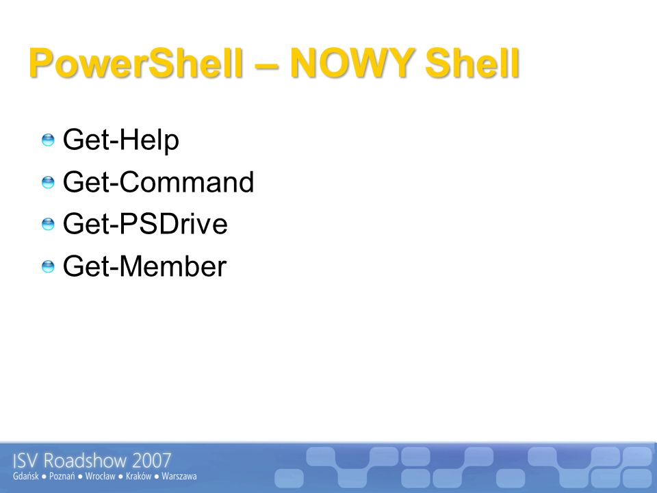 PowerShell – NOWY Shell