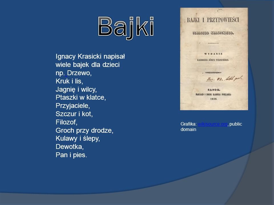 Ignacy Krasicki Wikimediacommons Public Domain Ppt Video