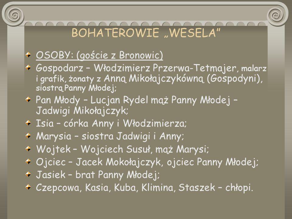 Wesele Stanisław Wyspiański Ppt Pobierz
