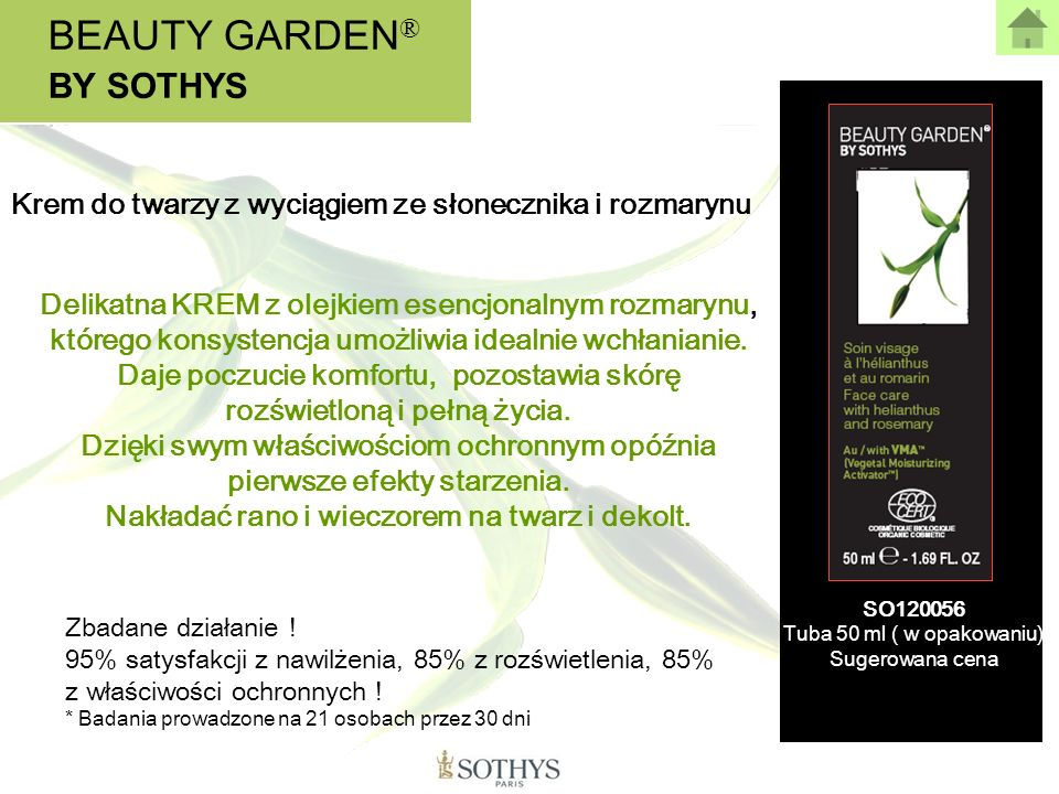 BEAUTY GARDEN® BY SOTHYS