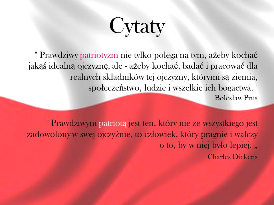 cytaty o patriotyźmie Nowoczesny patriotyzm   ppt video online pobierz cytaty o patriotyźmie