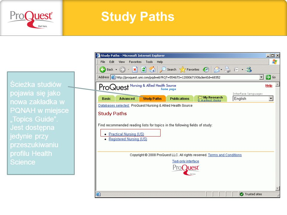 Study Paths Headline, subhead, or important text can go here.