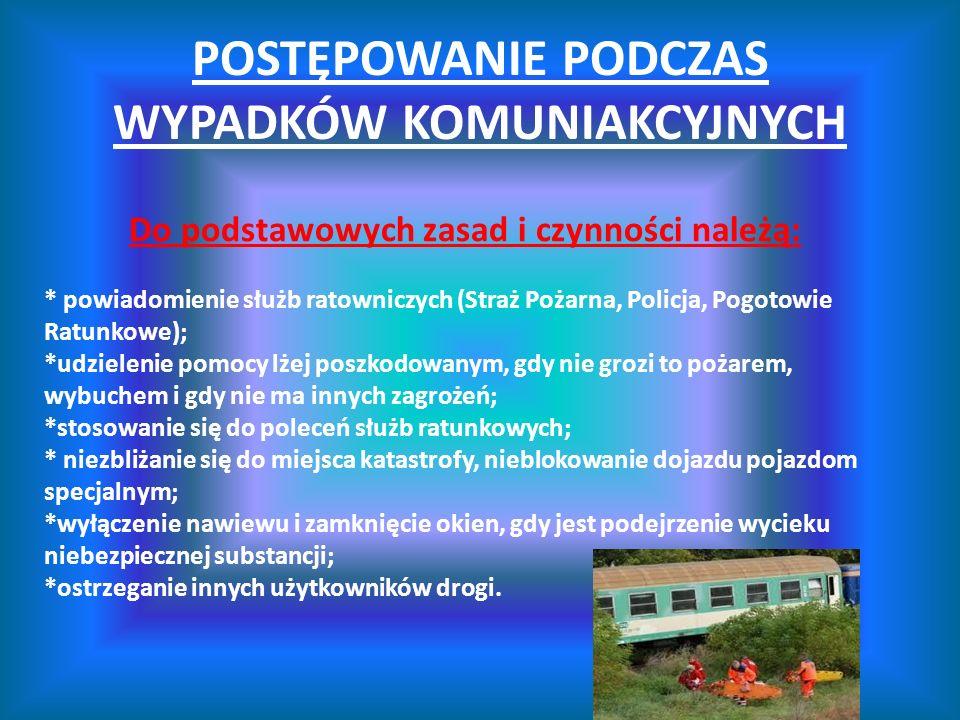 WYPADKI I KATASTROFY. - ppt video online pobierz