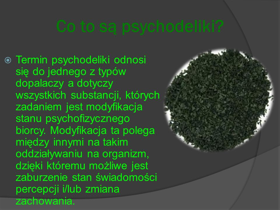 Co to są psychodeliki