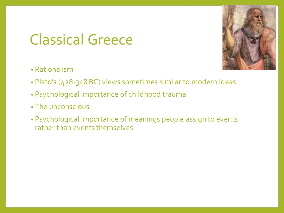 Classical Greece Rationalism