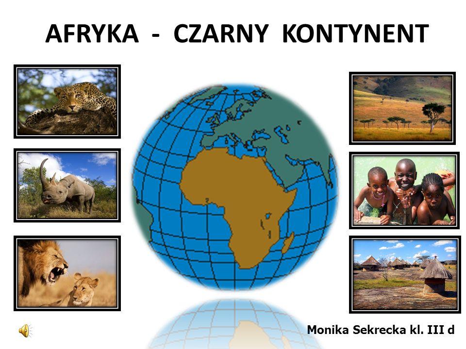 AFRYKA - CZARNY KONTYNENT - ppt video online pobierz