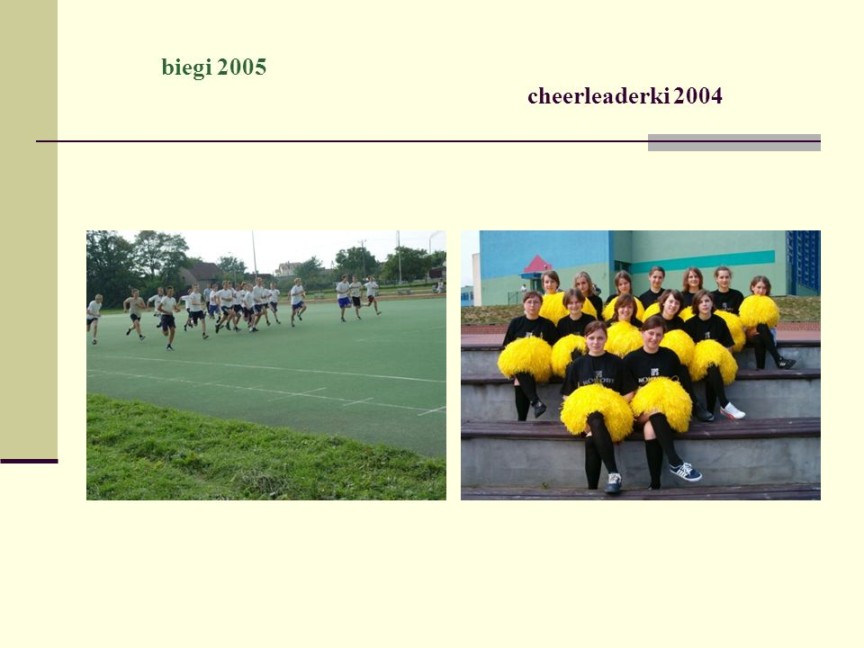 biegi 2005 cheerleaderki 2004