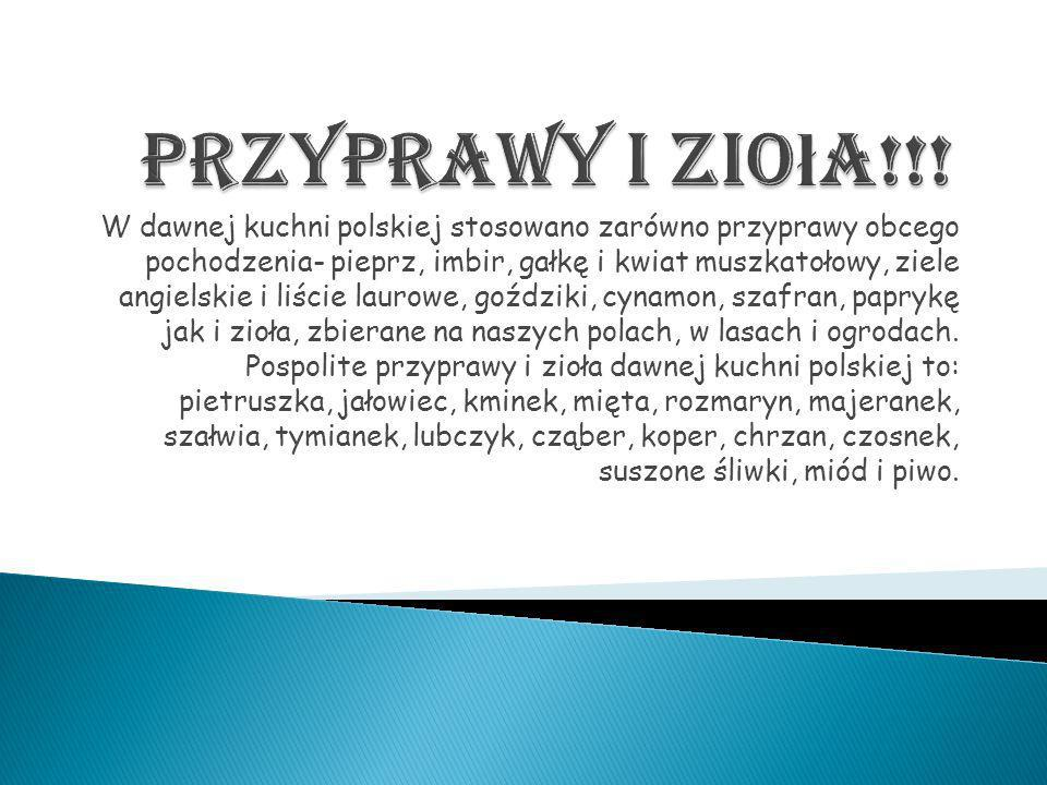 Kuchnia Polska I Regionalna Ppt Pobierz