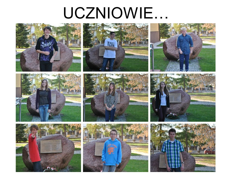 UCZNIOWIE…