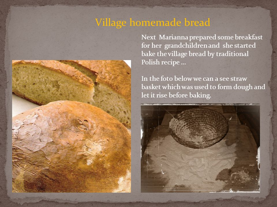 Village homemade bread