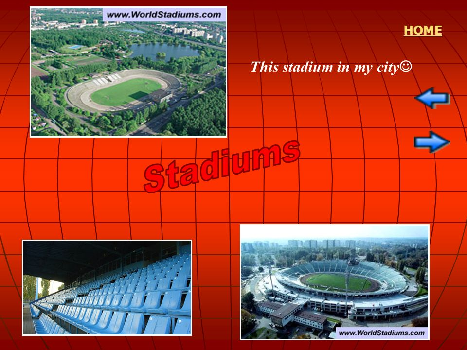 HOME This stadium in my city Stadiums